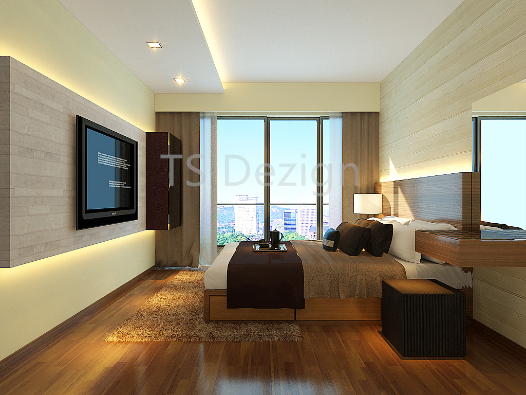 Living Room 2 & TS Dezign - Yishun Canopy (Executive Condo)